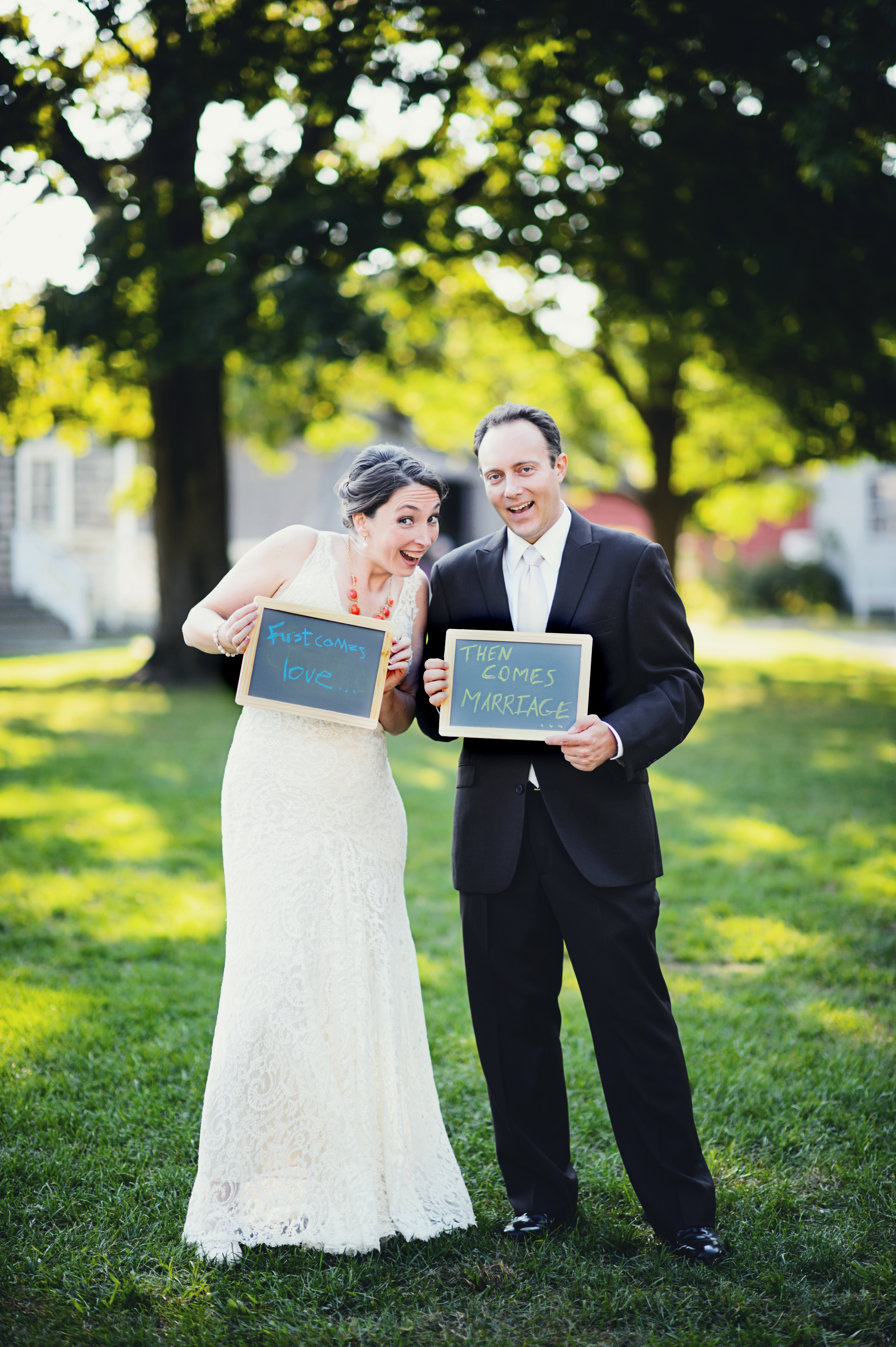 First comes love then comes marriage – Facebook Birth Announcements